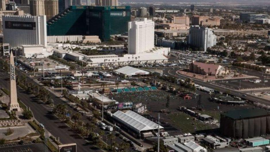 Vista aérea de The Strip