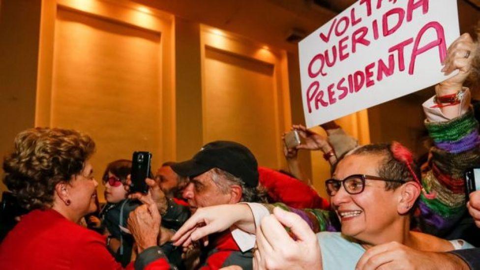Como possibilidade de voltar é remota, Dilma passou a defender antecipação das eleições