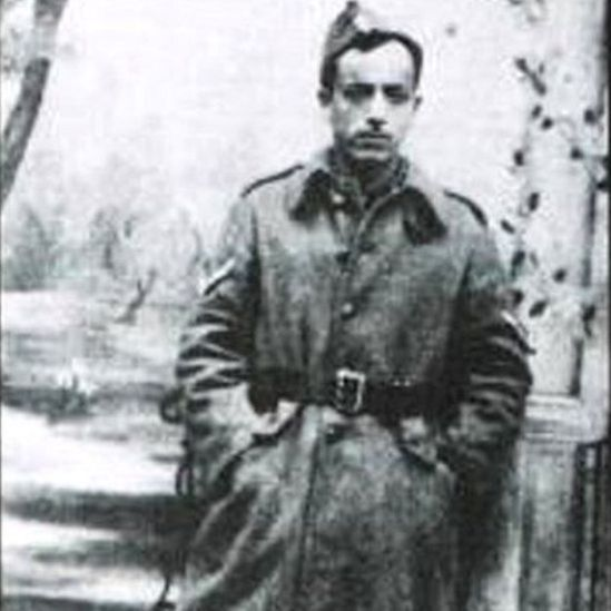 Марсель Наджари в форме греческой армии