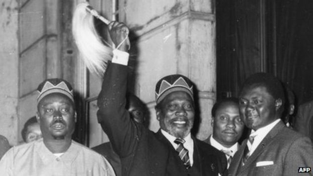 Image result for oginga odinga and jomo kenyatta