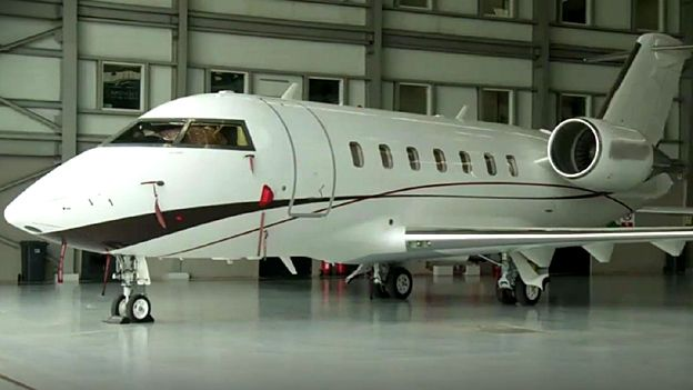 A private jet in Lagos, Nigeria -luxafrique