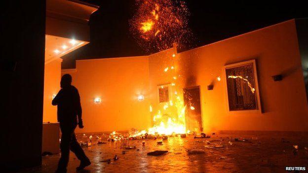 الهجوم على مبنى القنصلية الأمريكية في بنغازي