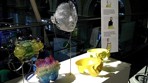 3D printed fashion accessories