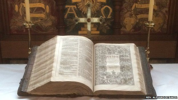 Rare bible found in Lancashire