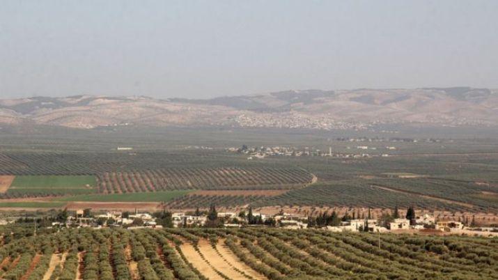 Afrin'den bir görüntü