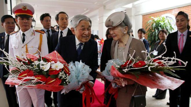 Việt Nam là quốc gia thứ 51 Nhật hoàng và Hoàng hậu thăm.