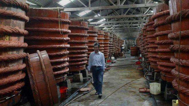 Sản xuất nước mắm