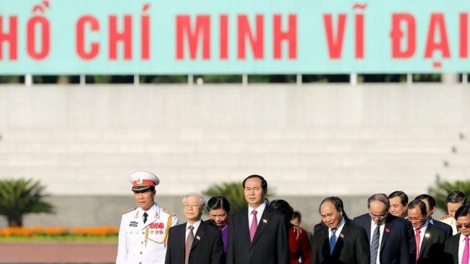 Lãnh đạo đảng Cộng sản Việt Nam