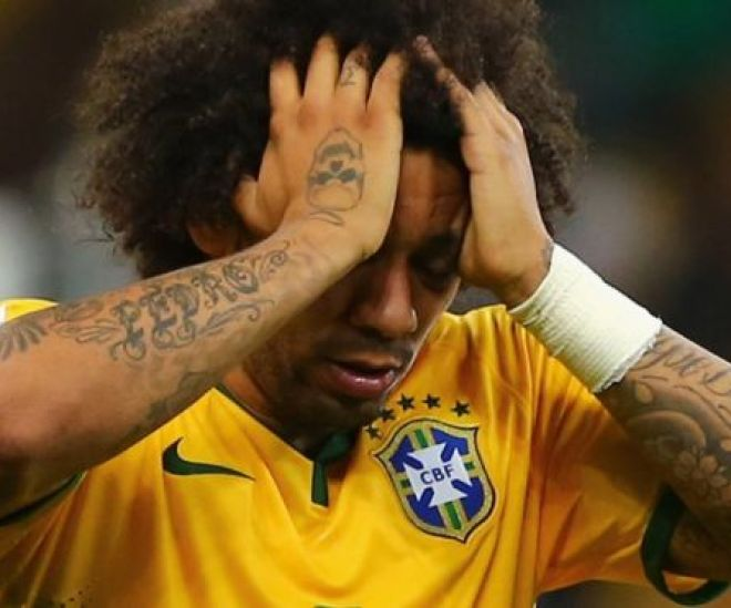 Brazil full-back Marcelo