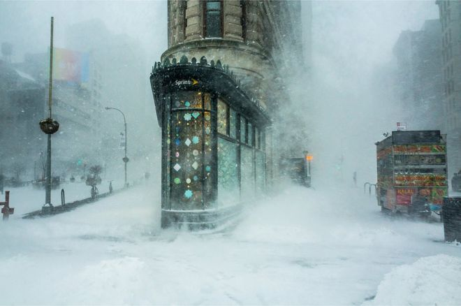 Edificio Flatiron, Nueva York, Estados Unidos.
