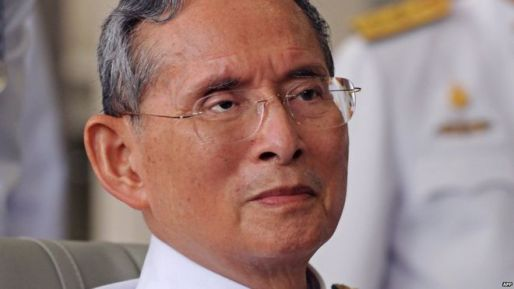 Thai King Bhumibol Adulyadej, pictured in 2010