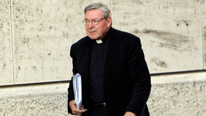 Australia's most senior Catholic Cardinal Pell