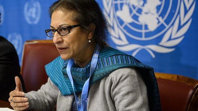 Image result for گزارشگر ویژه سازمان ملل