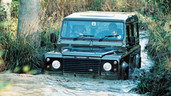 Land Rover Series vehicle