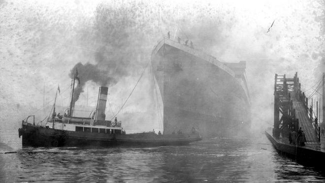 El Britannic era parte de la flota más lujosa y más grande de la época, la clase Olympic.