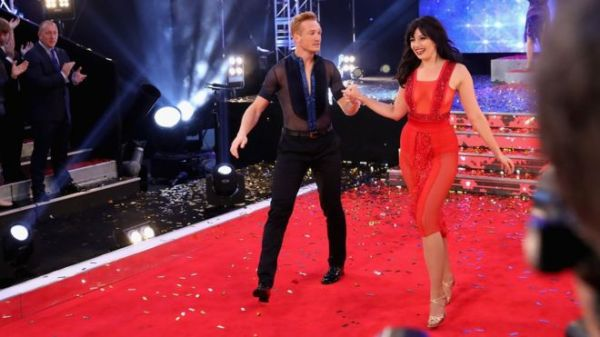Greg Rutherford and Daisy Lowe