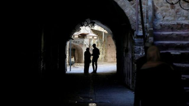 archway in Hebron's Old City