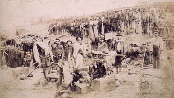 Soldados em Canudos