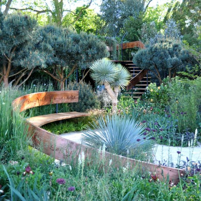 The Winton Capital Beauty of Mathematics Garden by Nick Bailey