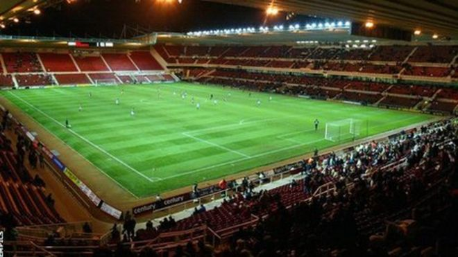 Middlesbrough's Riverside Stadium