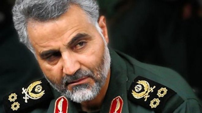 Qassem Soleimani wants IRGC to participate in the Tal Afar offensive (image from bbc.co.uk)