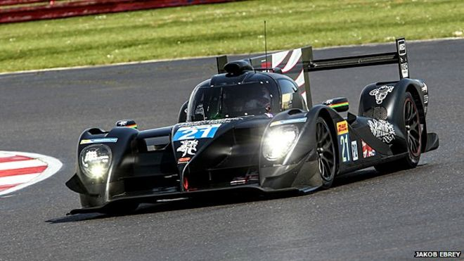 Strakka Dome 103 endurance racing car