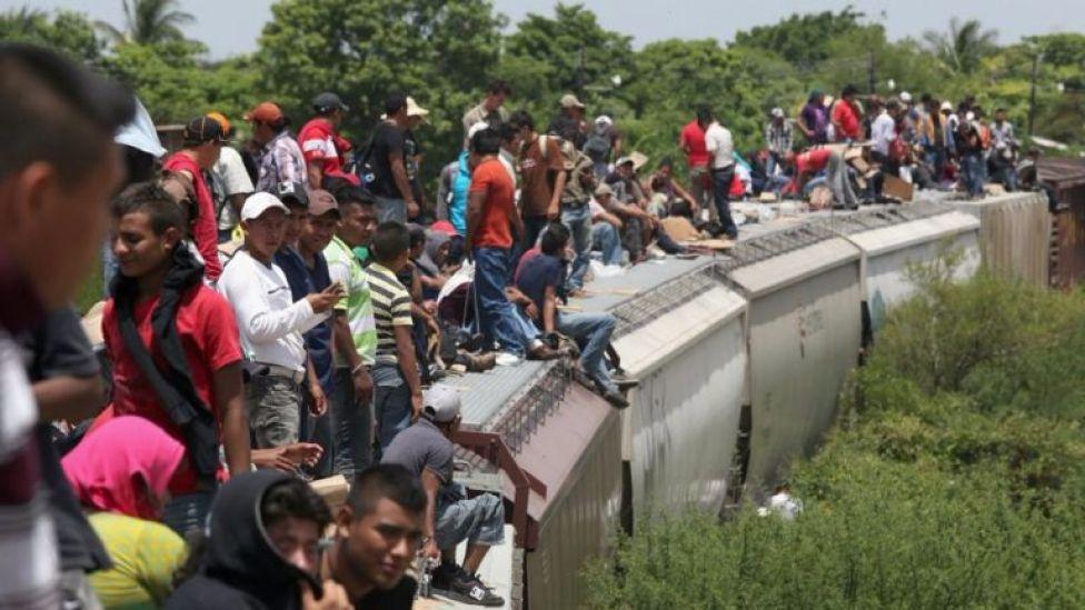 El flujo de migrantes en México no se detiene.