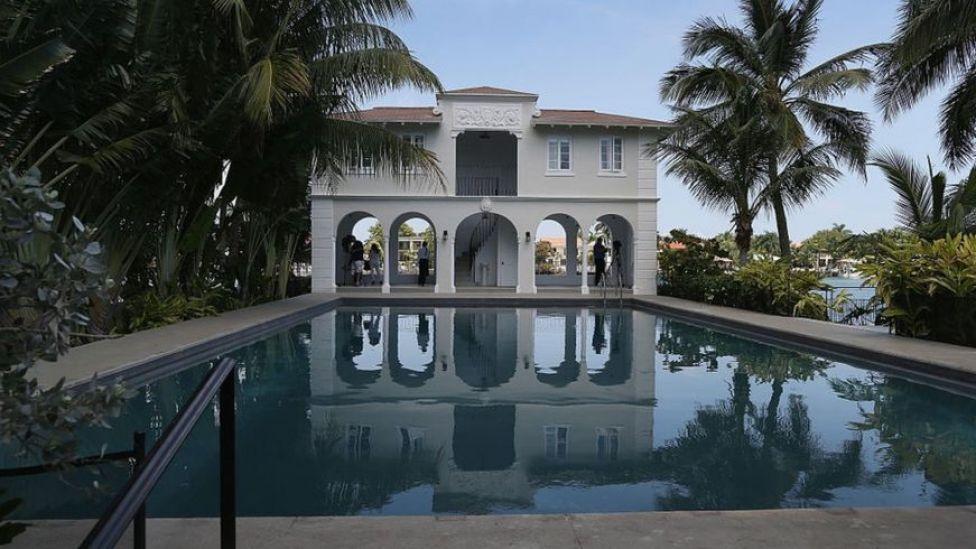 La casa de Al Capone en Miami.