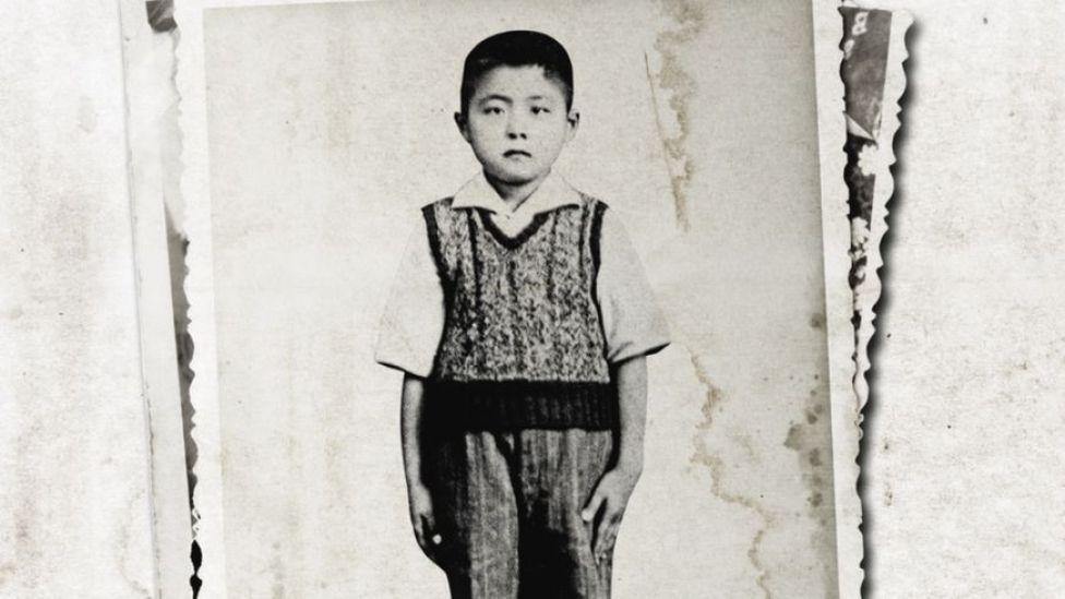 Alberto Fujimori de niño.