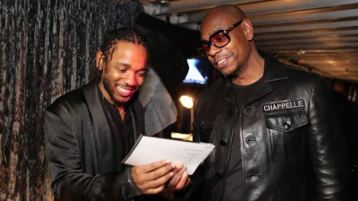 Kendrick Lamar with Dave Chappelle