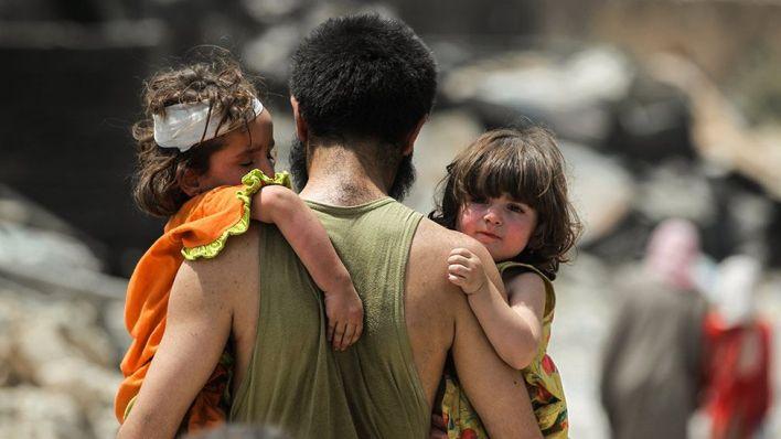 أطفال من الموصل