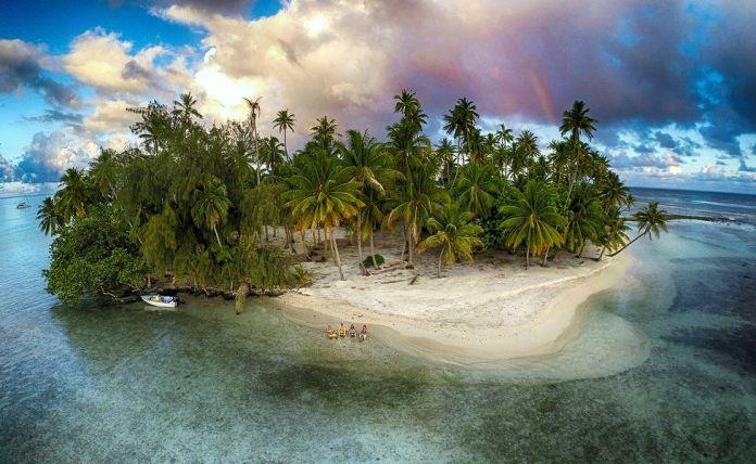 Isla perdida, Tahaa, Polinesia Francesa