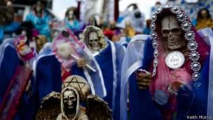 Risultati immagini per homicidios satanicos mexico santa muerte