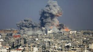 Bombardeo Israel Gaza