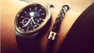 nuevo reloj inteligente de Samsung en la foto de instagram
