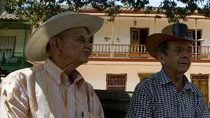 Ancianos en Colombia