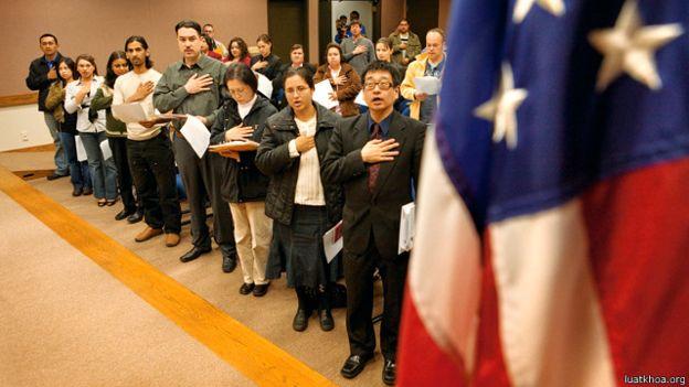 Nhập quốc tịch ở Mỹ