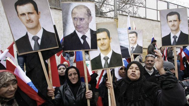 Assad y Putin