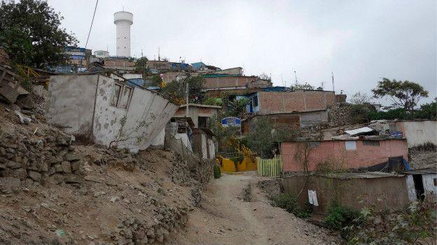 Shanty town de Lima