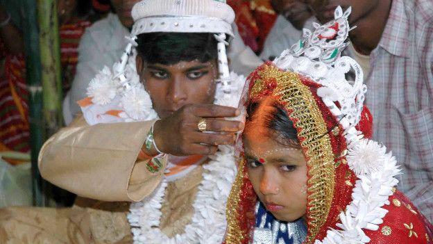 Matrimonio infantil en Idia
