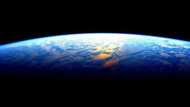 La última imagen que Kelly capturó de la Tierra antes de regresar