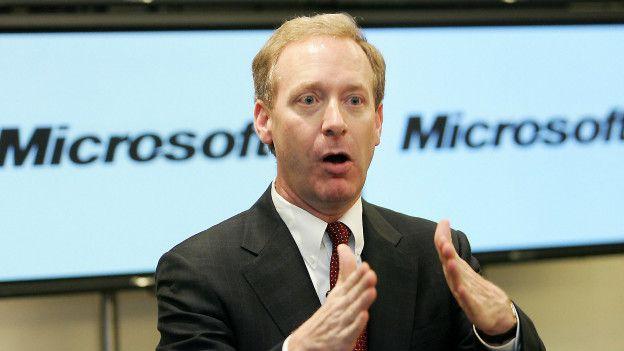El presidente y director legal de Microsoft, Brad Smith