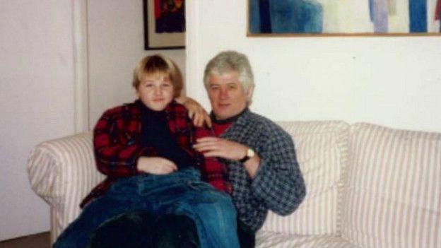 James y su padre