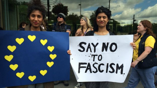 Anti brexit demo