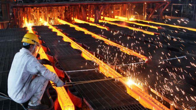 Sản xuất thép ở châu Á