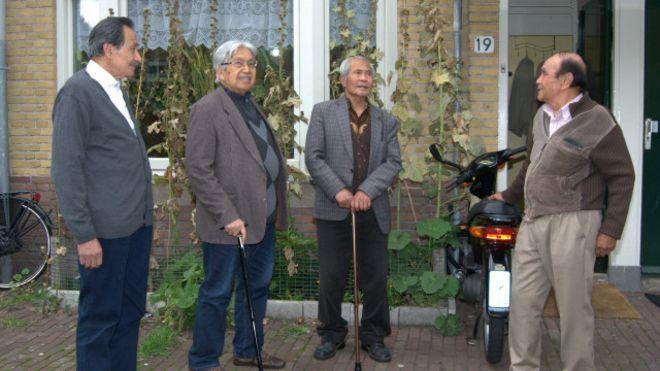 para eksil yang tinggal di Belanda