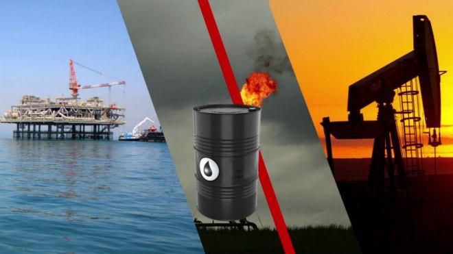 Dàn khoan khai thác dầu lửa