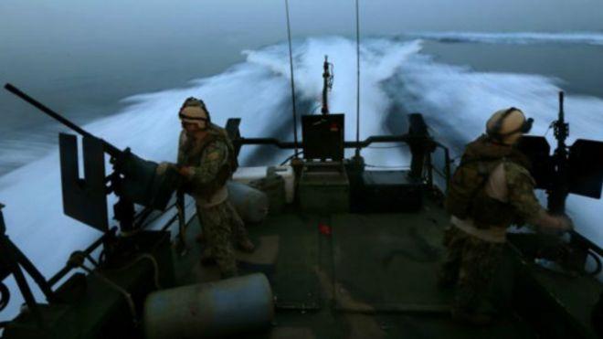 美国巡逻艇