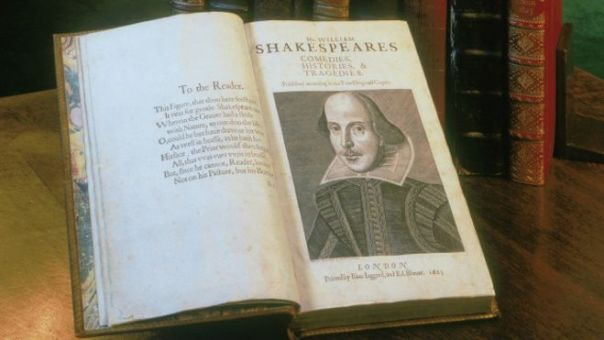 Primer Folio de Shakespeare