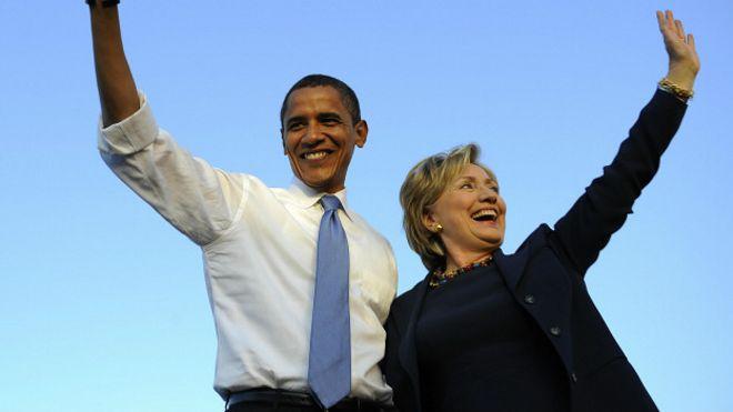 Image result for хиллари клинтон победа обама